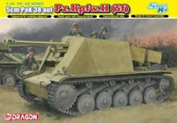 DML MILITARY KITS 5cm Pak38 L/60auf Fgst.pz 1:35, LIST PRICE $78.75