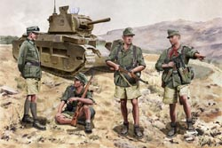 DML MILITARY KITS Gebirgsjagers Crete 1941 1:35, LIST PRICE $20.5