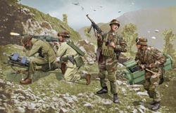 DML MILITARY KITS German Brandenburg Troops 1:35, LIST PRICE $20.6