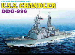 DML MILITARY KITS USS CHANDLER DDG-996 1:700    , LIST PRICE $26.5