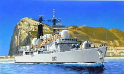 DML MILITARY KITS HMS LIVERPOOL PrmEd 1:700     , LIST PRICE $23.13