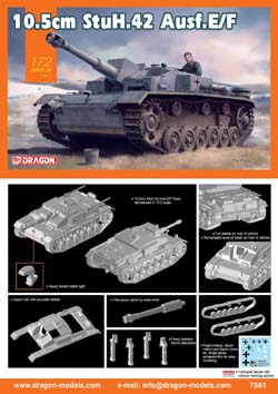 DML MILITARY KITS 10.5cm SturmhaubitZe 42 1:72, LIST PRICE $21.5
