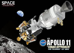 Dragon Wing Diecast Apollo 11 Lunar Approach 1:72, LIST PRICE $105