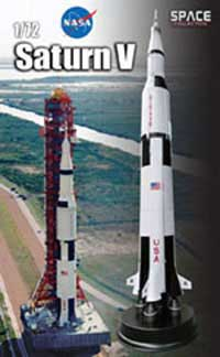 Dragon Wing Diecast Saturn V 1:72 14.5'X11X35'Box, LIST PRICE $325