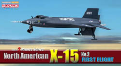 Dragon Wing Diecast North American X-15 #2 1:144, LIST PRICE $39.5