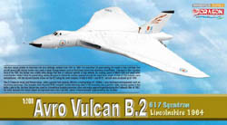 Dragon Wing Diecast Avro Vulcan B.2 617Sqdn 1:200, LIST PRICE $49.99