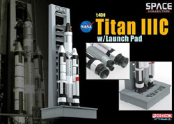 Dragon Wing Diecast Titan Iiic W/Launch Pad 1:400, LIST PRICE $39.9