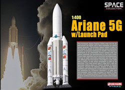 Dragon Wing Diecast Ariane 5G W/Launch Pad 1:400, LIST PRICE $40