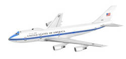 Dragon Wing Diecast E-4B ADVANCE AIRBORNE COMM:400, LIST PRICE $50