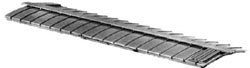 Central Valley HO 40' Rnd frght car roof 3/, LIST PRICE $6.88
