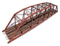 Central Valley HO 2-Trk Laced Truss Bridge, LIST PRICE $119.95