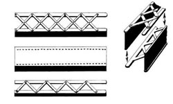 Central Valley HO Bridge girders section 5/, LIST PRICE $14.25