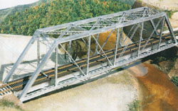 Central Valley Ho 150'Pratt Truss Bridge, LIST PRICE $43.95