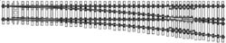 Central Valley HO Crvble swtch tie #8 rt 2/, LIST PRICE $9.85