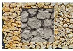 Chooch Dry Stack Blasted Rock Wall 11.38 x 3.5 x .125 in, LIST PRICE $12.99