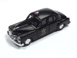 Classic Metal 1:87 1950 Dodge County Sheriff Car  , LIST PRICE $16.75