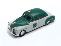 Classic Metal 1:87 1950 Dodge Police Car  , LIST PRICE $16.95