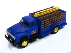 Classic Metal 1:87 1954 Ford Bottle Truck Dad's Root Beer  , LIST PRICE $19.75