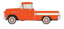Classic Metal HO 1:87 1957 CHEVY CAMEO , LIST PRICE $16.95