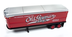Classic Metal 1:87 AeroVan Trailer Old German Beer  , LIST PRICE $22