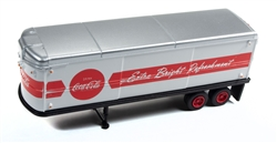 Classic Metal 1:87 AeroVan Trailer Coca-Cola  , LIST PRICE $21.95
