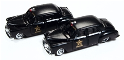 Classic Metal 1:160 1950 Dodge County Sheriff Car  , DUE 11/30/2018, LIST PRICE $19.95