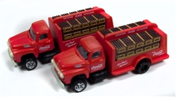 Classic Metal 1:160 1954 Ford Bottle Truck Coca-Cola  , LIST PRICE $19.95