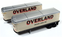 Classic Metal 1:160 AeroVan Trailer Overland Freight  , LIST PRICE $22