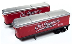 Classic Metal 1:160 AeroVan Trailer Old German Beer  , LIST PRICE $21.95