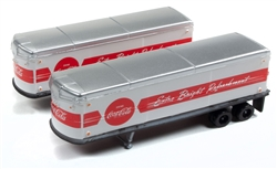 Classic Metal 1:160 AeroVan Trailer Coca-Cola  , DUE 11/30/2018, LIST PRICE $21.95