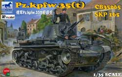 Bronco Models Pz.Kpfw.35 LIGHT TANK 1:35, LIST PRICE $66.25