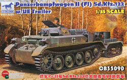 Bronco Models PanZerkampfwagen Ii 1:35, LIST PRICE $63.95
