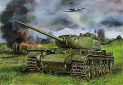 Bronco Models Russian Hvy Tank Kv-85 1:35, LIST PRICE $73