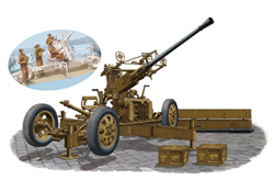 Bronco Models Oqf 40mm Bofors Aa Gun 1:35, LIST PRICE $65.95