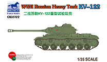 Bronco Models Ww2 Russian Heavy Tank 1:35, LIST PRICE $77.95