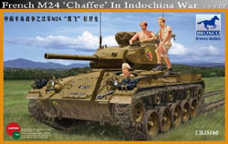 "Bronco Models 1/35 French M24 ""Chaffe"" in Indochina War, LIST PRICE $76"