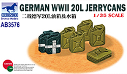 Bronco Models German Wwii 20L Jerrycans 1:35, LIST PRICE $9.5