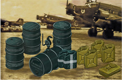 Bronco Models Wwii German Jerry Cans+1:48, LIST PRICE $9.75