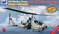 Bronco Models USMC AH-1W SUPER COBRA 1:350, LIST PRICE $11.75