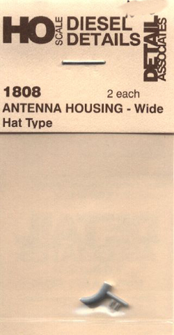 Detail Assoc Antenna Housing Wide Hat Type (2), LIST PRICE $3.4