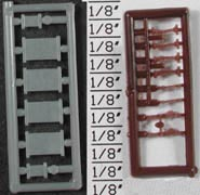 Detail Assoc Boxcar Door Detail Set (14), LIST PRICE $5.2