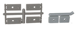Detail Assoc Coupler Mounting Pads .035�, .055�, .075� thick (2 ea), LIST PRICE $4.4