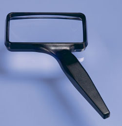 "Donegan Optical Co. (Optivisor) 2"" x 4"" MAGNIFIER             , LIST PRICE $15.95"