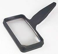 "Donegan Optical Co. (Optivisor) 2""x4"" Rect Hnd Magnifr, LIST PRICE $13.98"