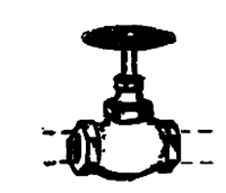Custom Finishing HO Globe Valve Long Stem  4/, LIST PRICE $9.95