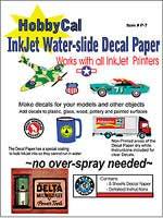 Evan Designs HobbyCal Inkjet Decal Paper, LIST PRICE $18.99