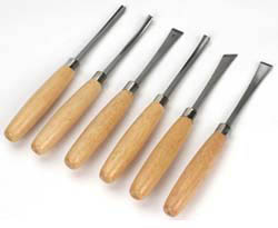 Excel Hobby Blades 6pc WOOD CARVING SET , LIST PRICE $29.95