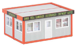 Faller HO Modular Snack Concession Building, LIST PRICE $26.99
