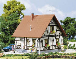 Faller HO Half-timbered house, LIST PRICE $23.99