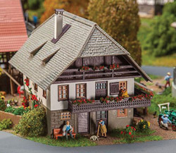 Faller HO Day-Labourers House, LIST PRICE $61.99